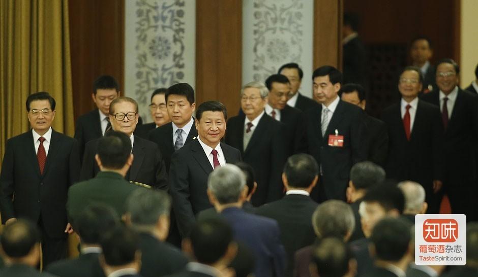2014年国庆招待会,来源:中新网