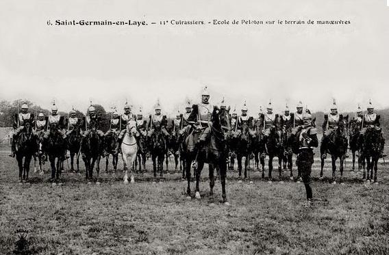 第11骑兵队,这张照片拍摄于1915年