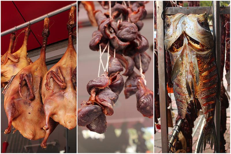 板鸭,腊鸭珍与腊鱼,图片来源:巴巴