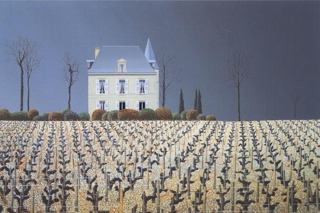Chateau Latour,画家:michaelkidd