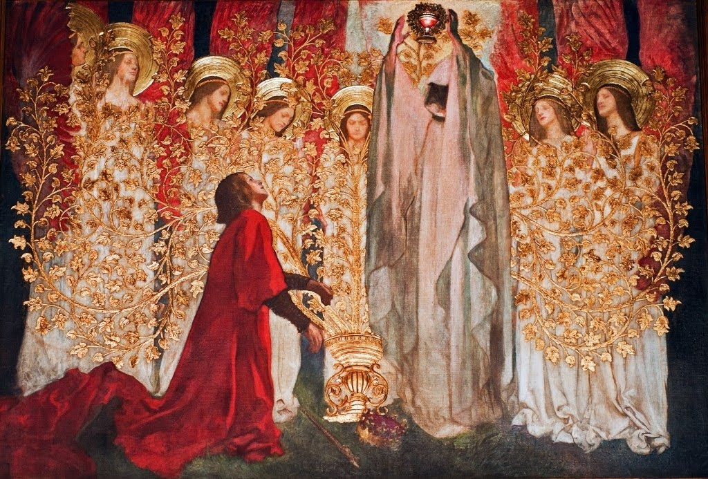 Edwin Austin Abbey, The Quest for the Holy Grail