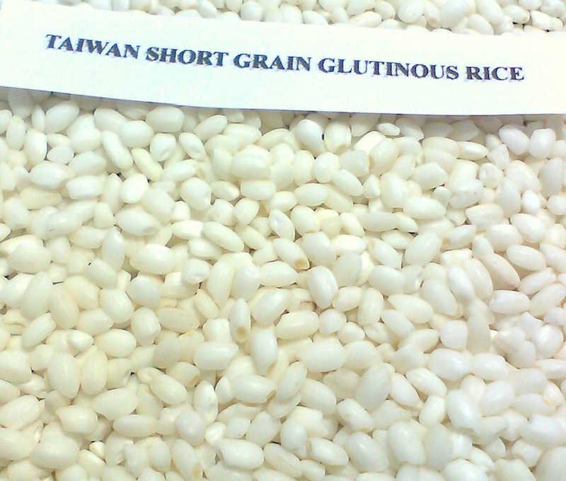 糯米就是典型的短粒米