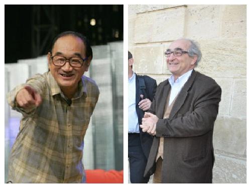 上海笑星严顺开和拉菲古堡总经理查尔斯·舍瓦利尔,你猜谁是谁?