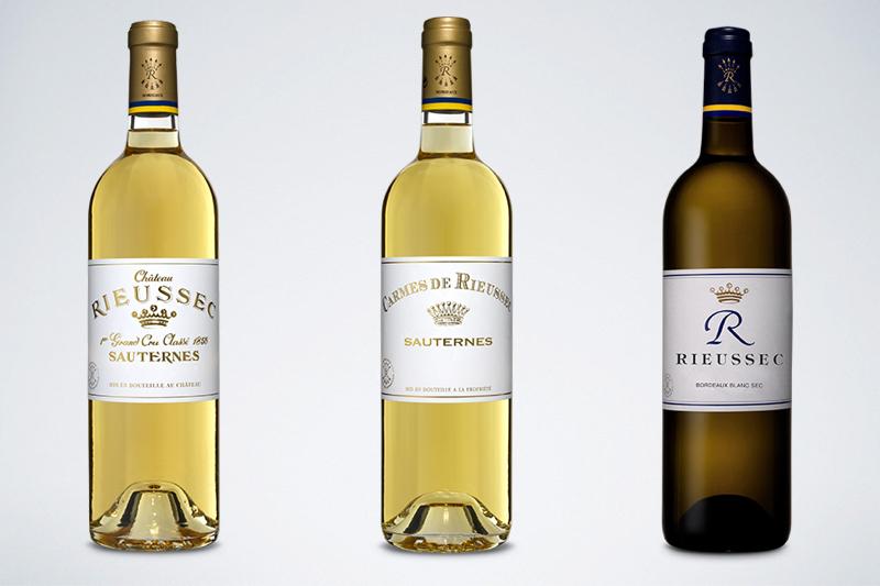 莱斯古堡的主牌,副牌,以及干白葡萄酒