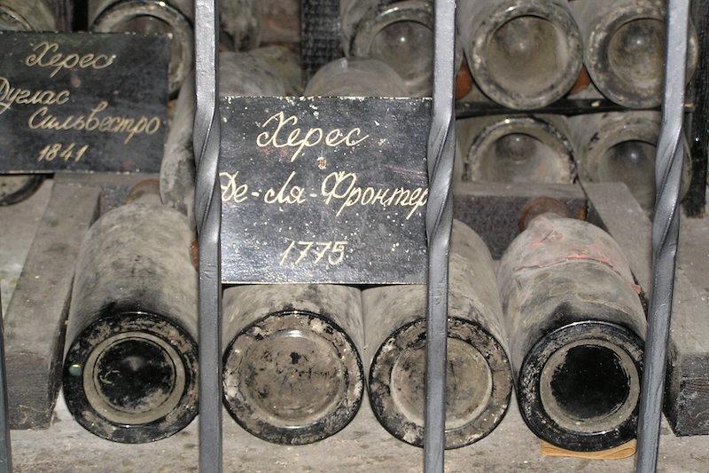 一些非常古老的雪莉酒,图片来源:wikipedia