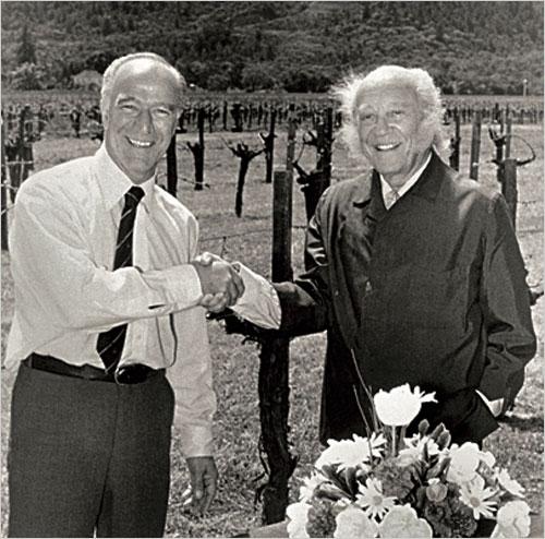 Robert和Philippe de Rothschild