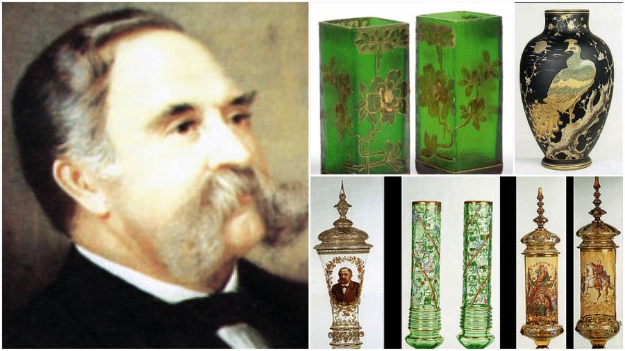 家族第6代掌门,玻璃王老Josef Riedel的作品现在仍然是收藏界的抢手货