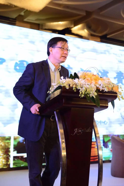 国家葡萄产业技术体系首席科学家、中国农业大学教授段长青在峰会论坛上发言