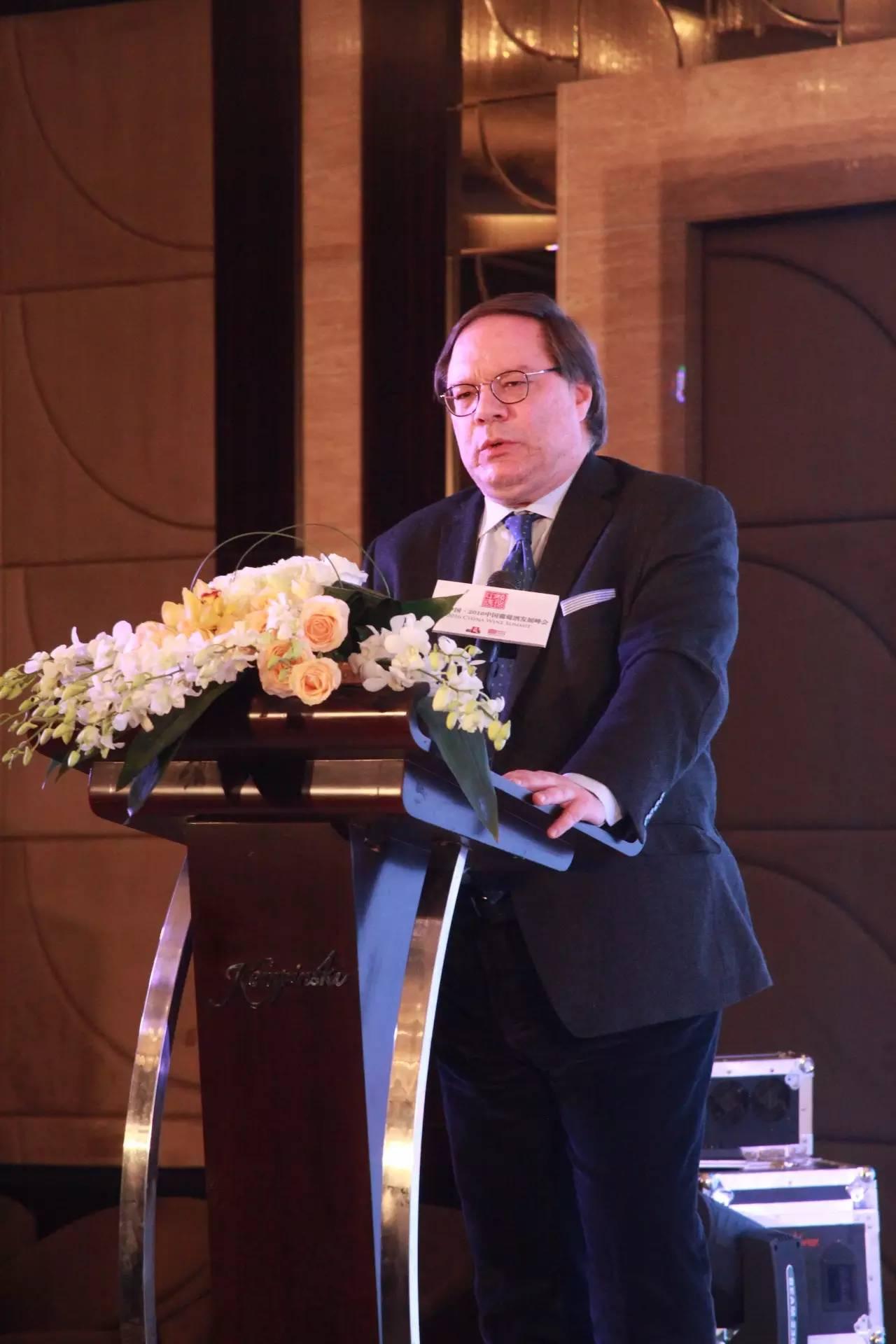 伊安·达加塔(Ian D' Agata)大师在峰会论坛上发言