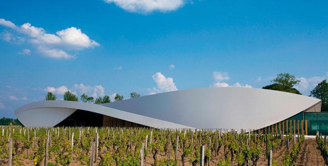 白马酒庄Chateau Cheval Blanc的新酒窖