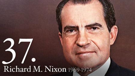 理查德·尼克松 Richard Nixon 美国第37任总统,来源:the White House