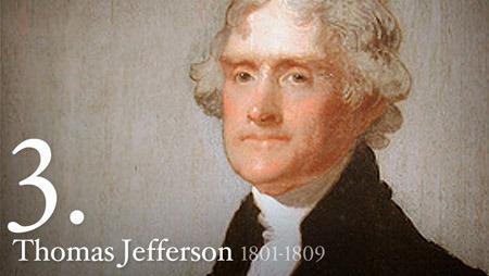 托马斯·杰弗逊 Thomas Jefferson 美国第3任总统,来源:the White House