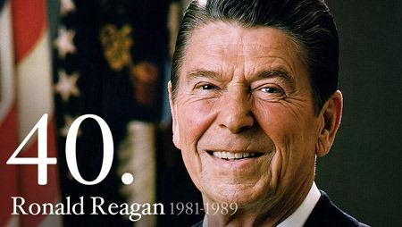 罗纳德·里根 Ronald Reagan 美国第40任总统,来源:the White House