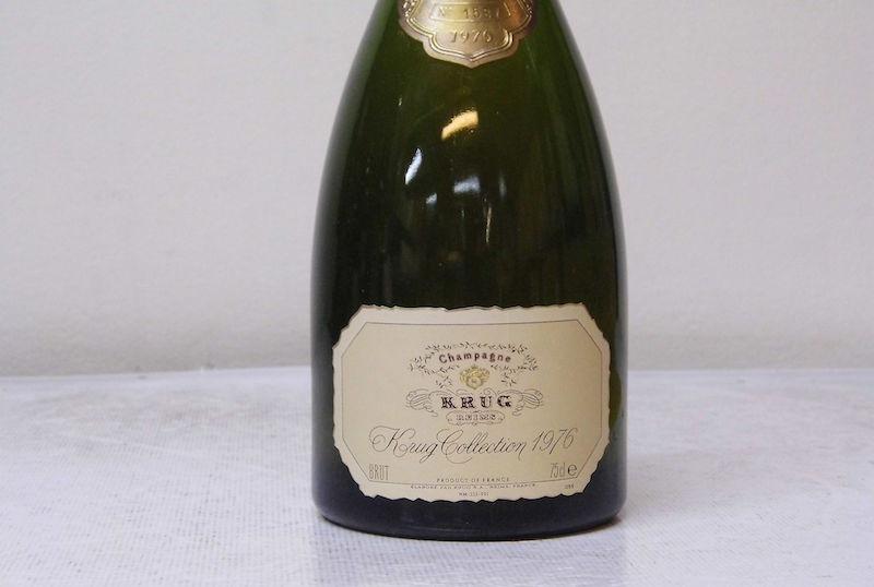 由于极高的酸度和高压环境,年份香槟的陈年能力非常之长,文中1976年份的Krug,其实仍然年富力强