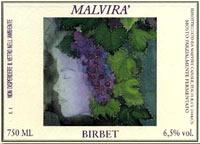 Brachetto birbet - Malvira