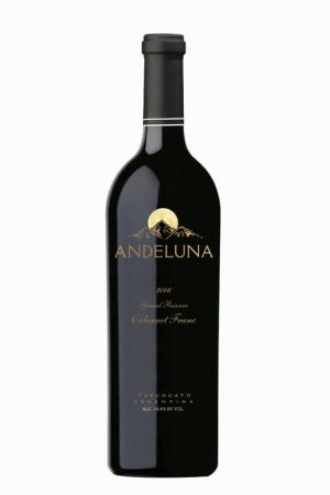 Andeluna Pasionado Cabernet Franc,图为2008年份