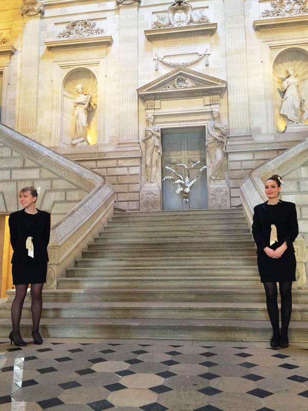 2014年伊甘Château d'Yquem在大剧院里举行期酒搭配松露品鉴酒会,照片:凌子/知味葡萄酒杂志