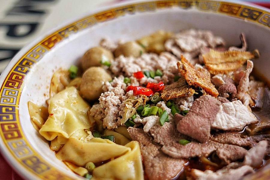 本次获得一星的餐厅:大华猪肉粿条面