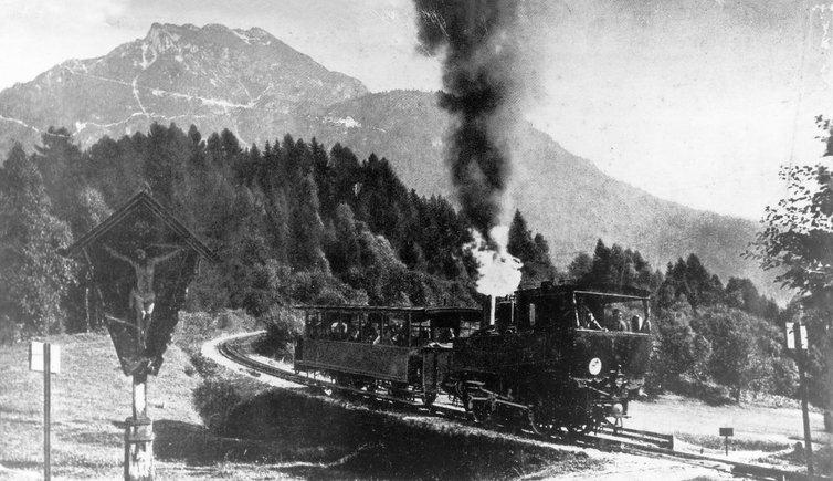 当时Tyrol的火车站