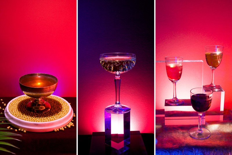酒吧里提供的几款以修道士为主题的鸡尾酒,来源:Ann Charlott Ommedal/Alcoholic Architecture