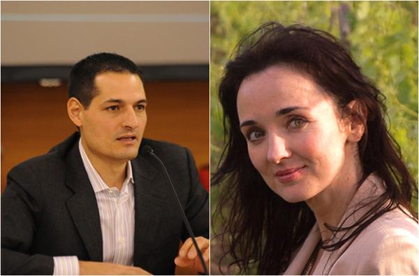 安东尼奥·伽罗尼(Antonio Galloni,左)和Kerin O'Keefe(右)