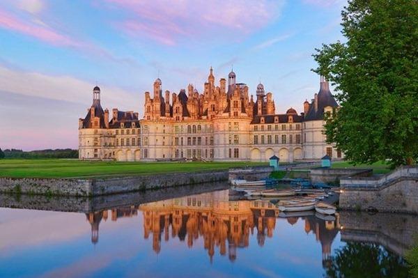 卢瓦河谷(Val de Loire)的美丽城堡,图片来源:mirror