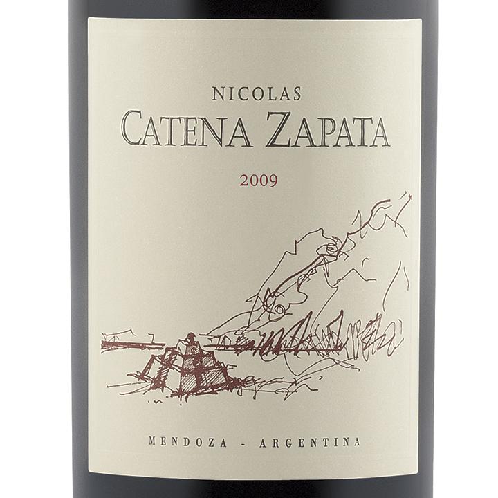 Catena-Zapata-Nicolas-Catena-Zapata-2009-Label