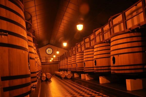 波尔多格拉夫名庄 克莱蒙教皇堡(Château Pape Clément)的酿酒车间,来源:知味葡萄酒杂志/朱思维