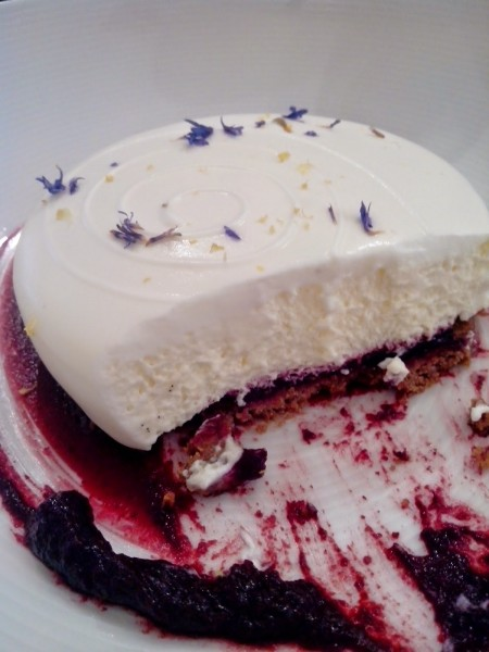 Cheesecake Cassis 图片来源:www.sugarnsale.com