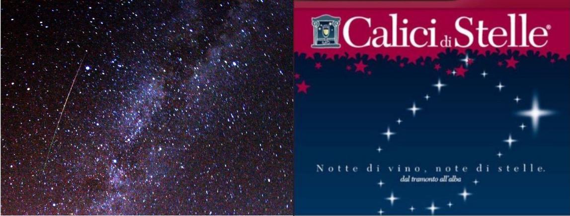 左图:2009年的英仙座流星雨;右图:Alba群星之夜,美酒之夜