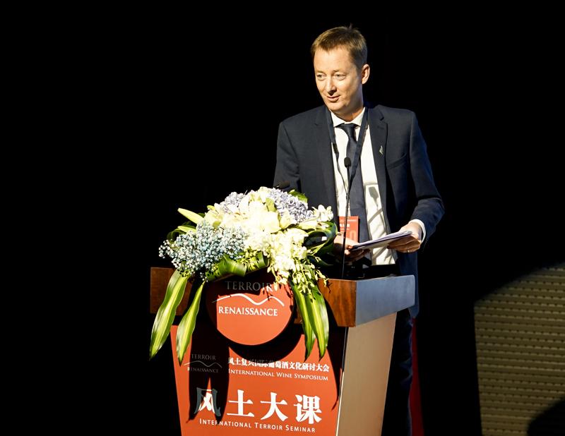 新西兰驻上海总领事馆商务领事潘迪文