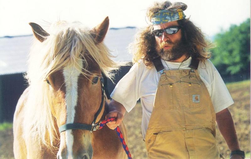 Didier Dagueneau和他的马