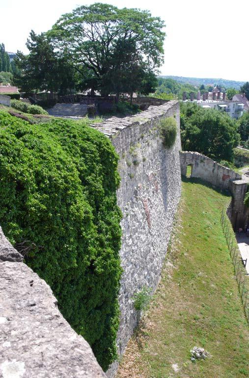 Eger的城墙