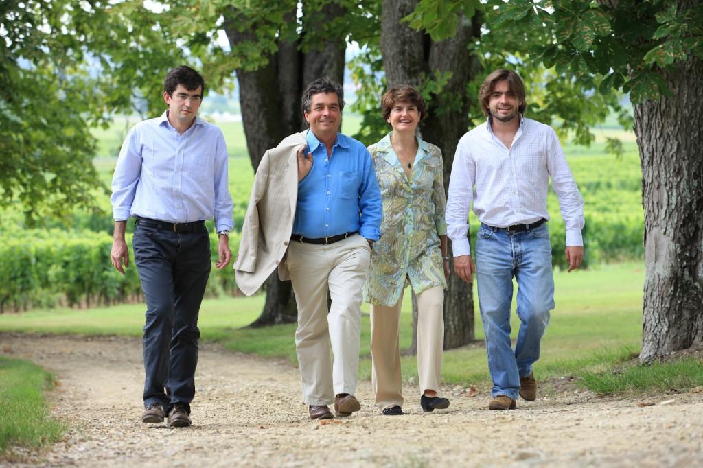 Denis Dubourdieu和家人