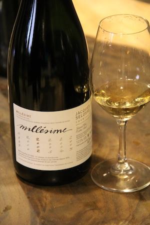 Selosse的白中白年份香槟系列Millésime 2002,图片来源:谢晓燕