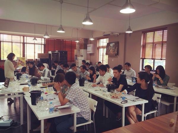 GWS培训课程上海场在知味葡萄酒教室进行