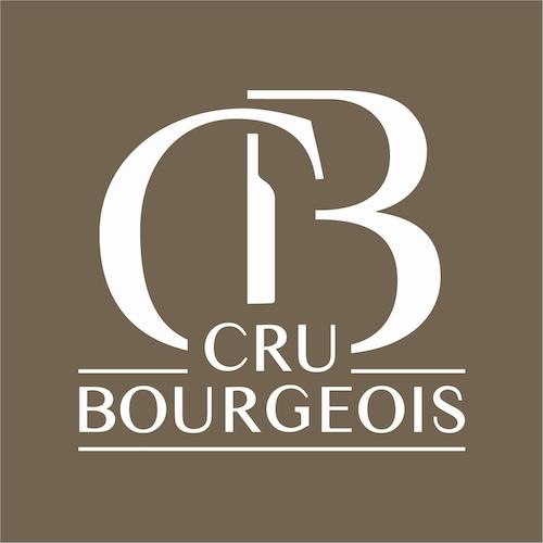 """Cru Bourgeois的标记,可以在成员的酒标上看到显眼的""""CB""""记号"""