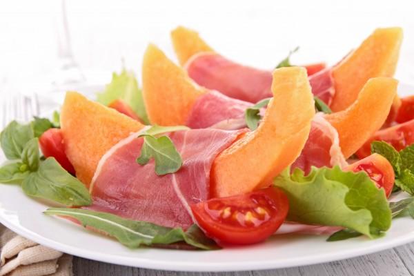 意大利名菜:火腿和蜜瓜