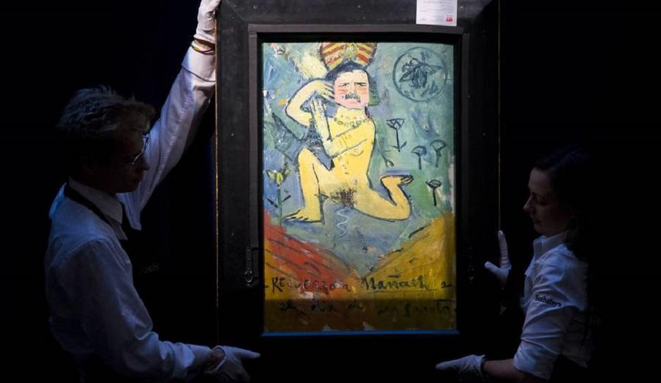 毕加索《给画商的肖像画》,是比尔·科克(Bill Koch)从他80年代初购买的一副毕加索早年画作的夹层里无意找到的。