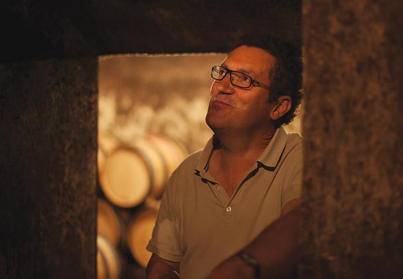 Domaine Lucien Boillot的庄主Pierre Boillot先生