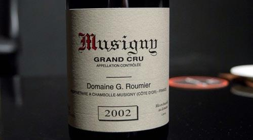 乔治·鲁米耶庄园(Domaine Georges Roumier )的蜜思妮特级园 (Musigny Grand Cru)