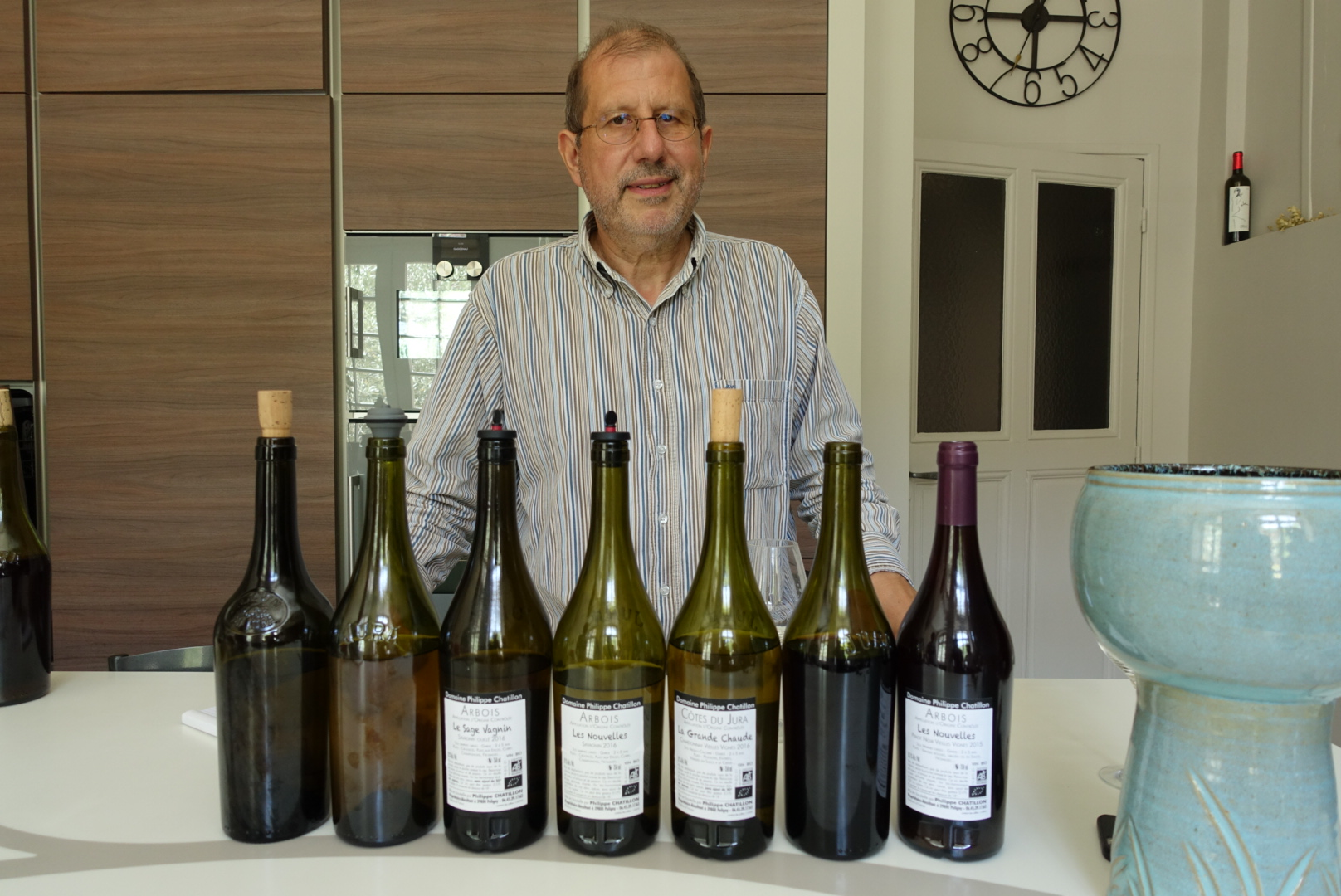 斐沙酒庄的庄主Philippe Chatillon先生