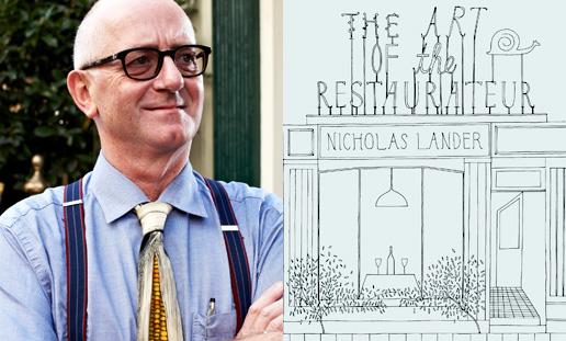 尼古拉斯·兰德和他的新书,《开餐厅的艺术》