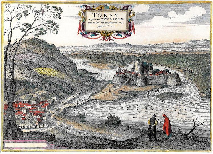 十六世纪的托卡依地区风景素描,图片来源:Wikimedia