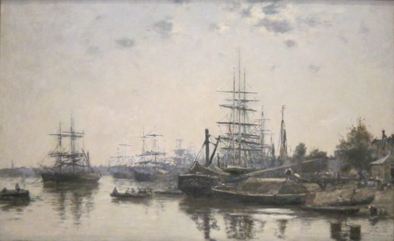 19世纪时,纱桐河岸路还是波尔多葡萄酒装船的小码头