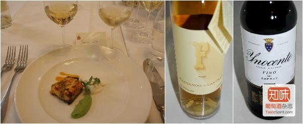 第二道菜与配酒,图片来源:知味葡萄酒杂志 / 施晔
