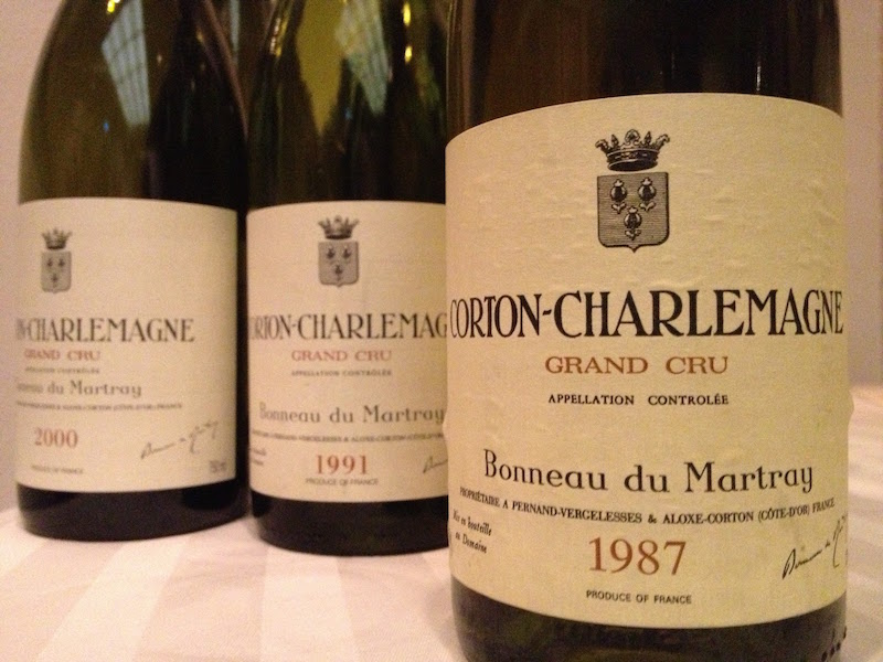 马特莱(Bonneau du Martray)酒庄只出产Corton和Corton-Charlemagne两块特级园