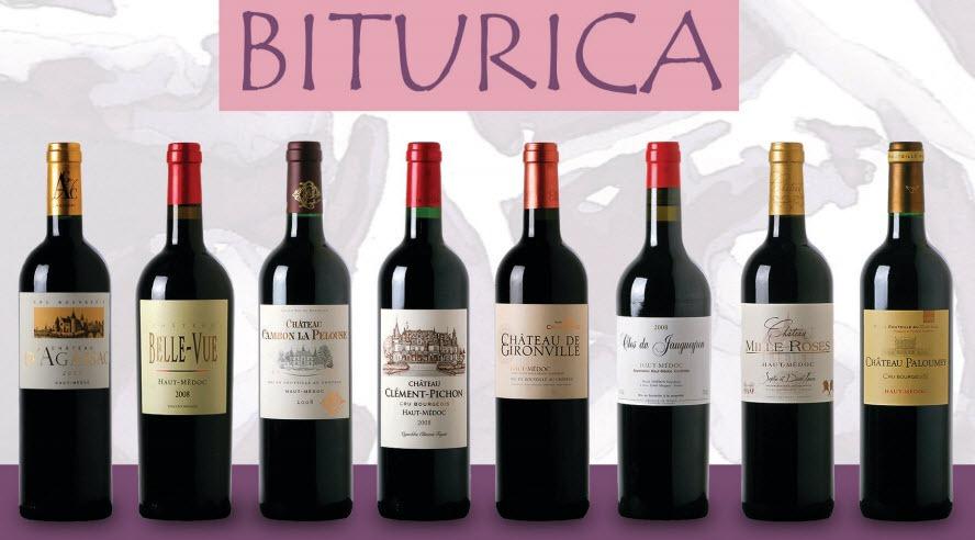 组成上梅多克的Biturica团体的八家酒庄的葡萄酒,来源:Biturica