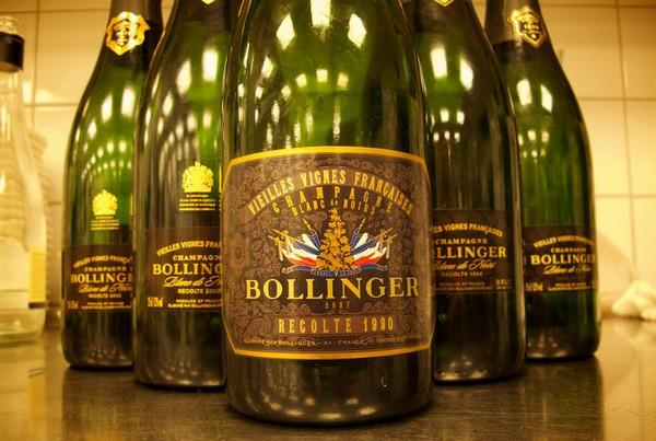 稀有的堡林爵(Bollinger)VVF老藤香槟,来源:Champagne Tasting