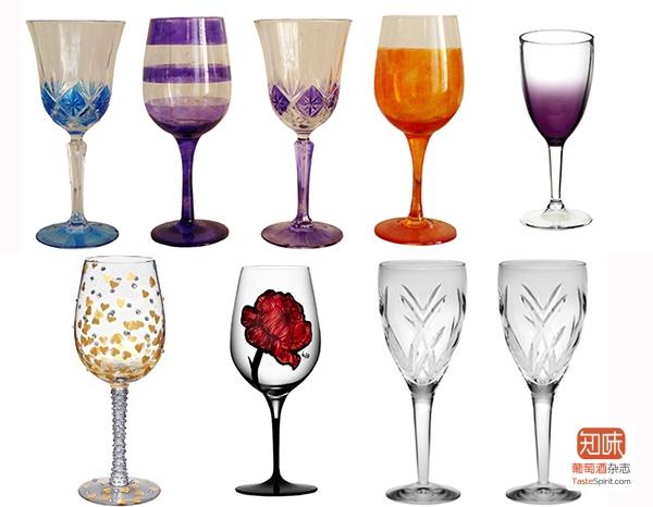 各式各样、或美或丑的非典型酒杯